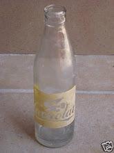 La botella del Cacaolat...