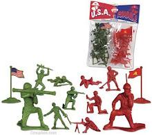 Los soldados que tenían todos los niños...