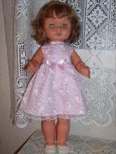 Y ésta, era mi muñeca Lydia... ¡qué bonita!