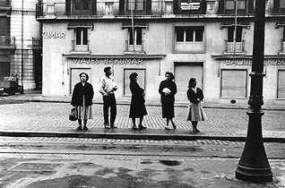 Las Ramblas de Barcelona el año en que nací... 1.956