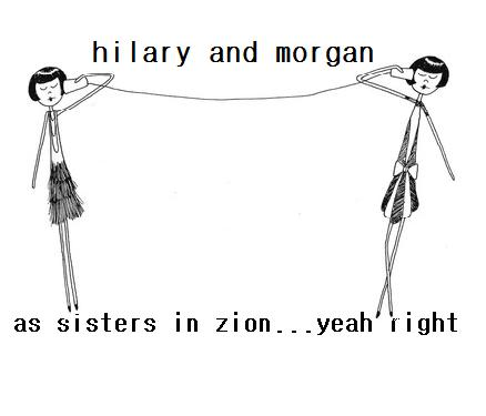 hilary and morgan