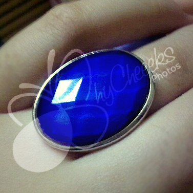 Blue Mood Ring Means
