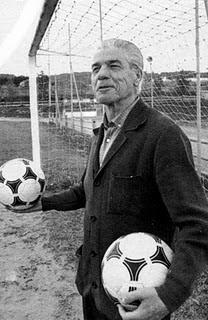Piru Gainza también ejerció como entrenador del Athletic