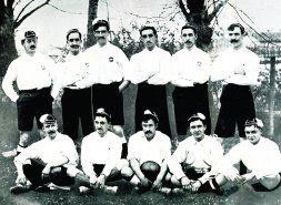 Alineación del Bizcaya, el primer campeón de la historia del fútbol español