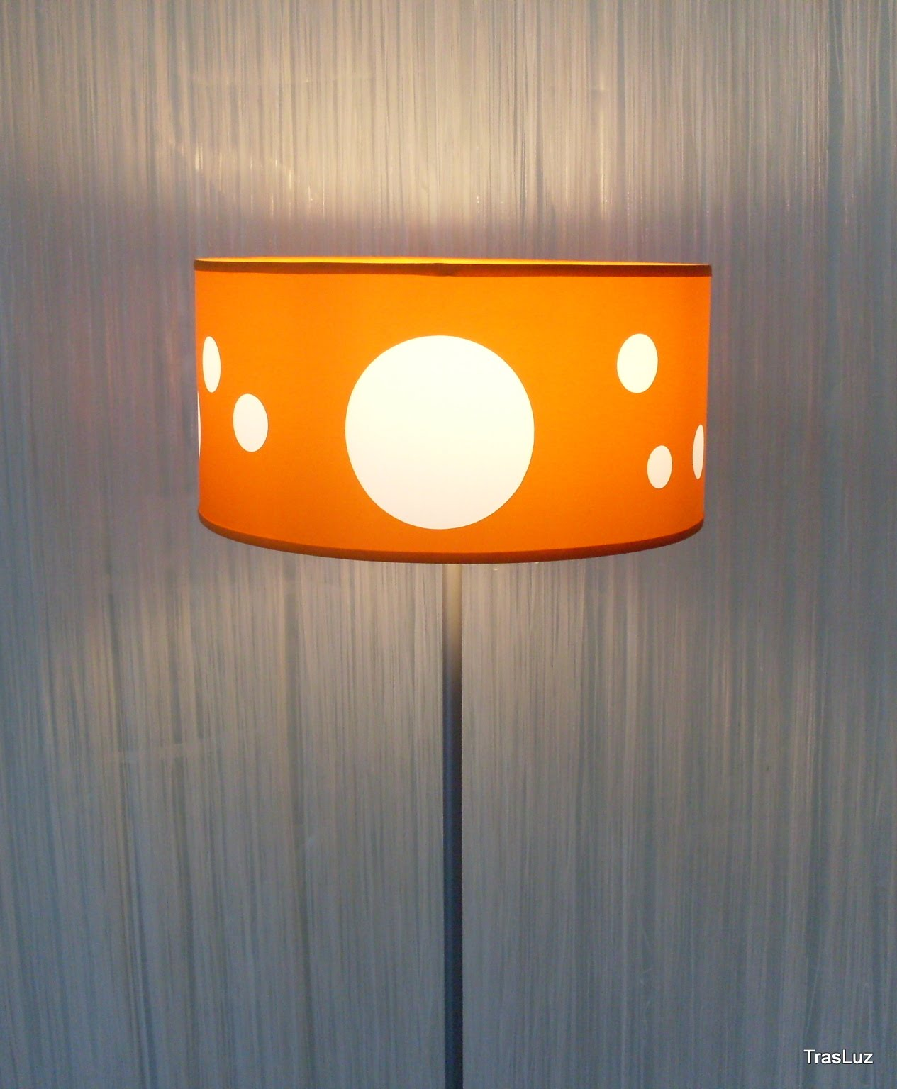 Trasluz lamparas decorativas lampara de pie lunares - Lamparas de pie decorativas ...