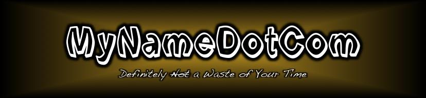 MyNameDotCom