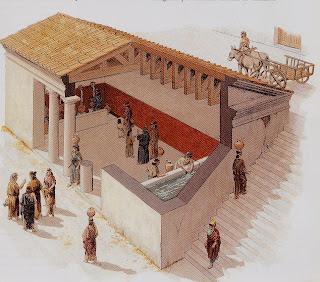 Templo greco latino vida de la antigua grecia Casas griegas antiguas