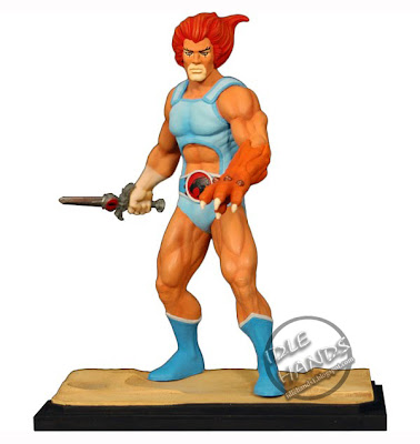Lionfigure on Idle Hands  Lion O Staction Figure Revealed