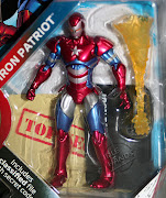 New Marvel Universe Figures Hit the Pegs (marvel iron patriot )