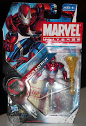 Iron Patriot Iron SpiderMan Mary Jane Watson (with Miss Lion!) (marvel iron patriot)