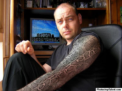 If you want to have a snake tattoo with a tribal touch then go for tribal
