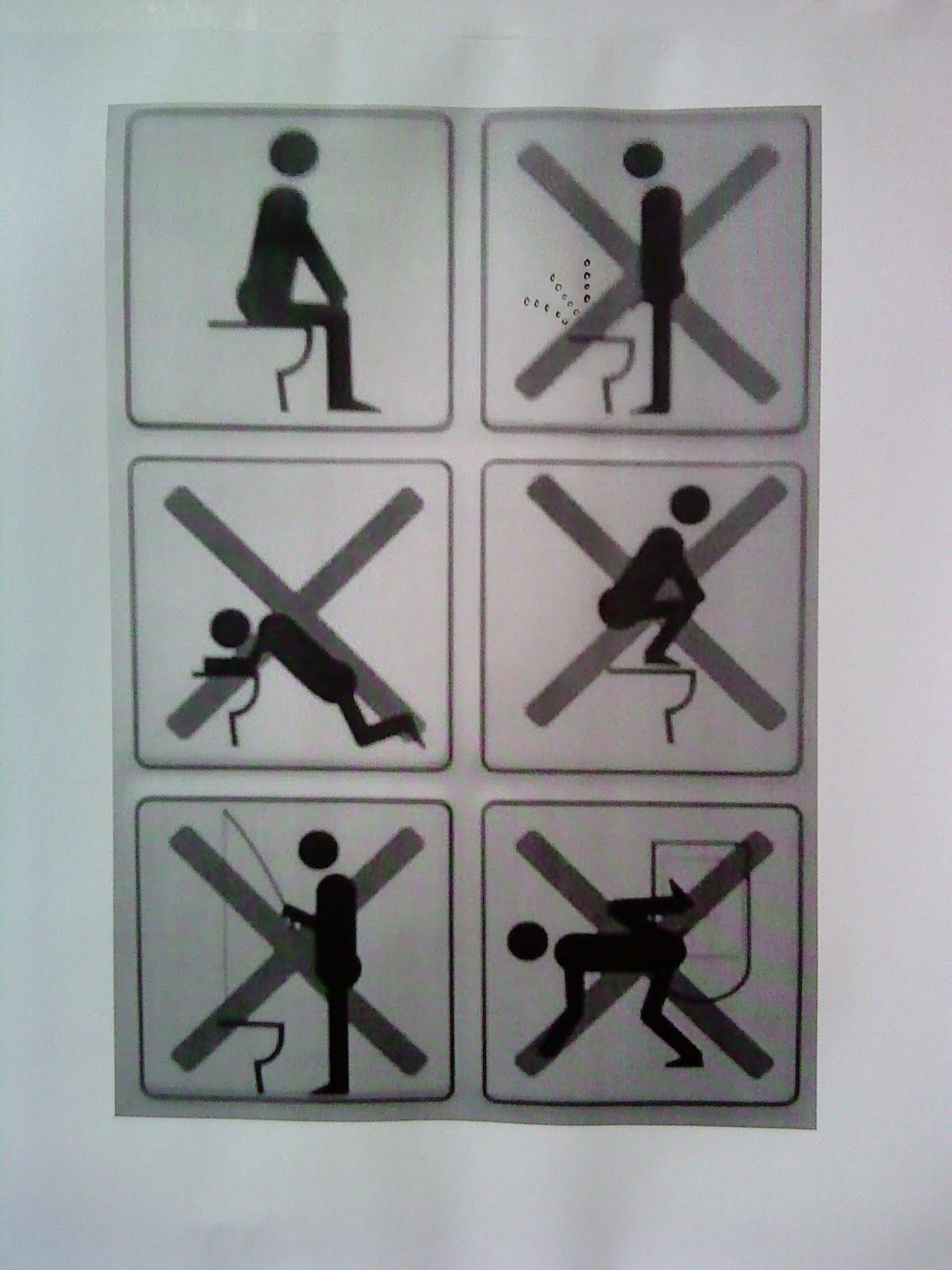 Посматриваем в туалете 8 фотография