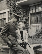 Harold and Sue Hawley during WW2.