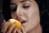 Katrina kaif in slice advertisment Aamsutra