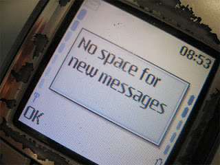 No space for new messages