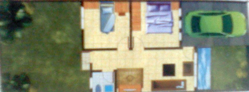 Tata Ruang Rumah Type 48