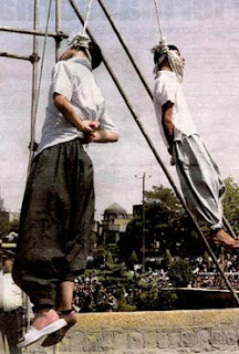 muslims hang gays ... of having sex with little girls, authorities said in court records.