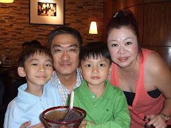Elaine Wong & family