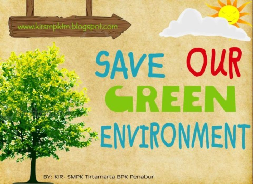 Save OUR Green Environment