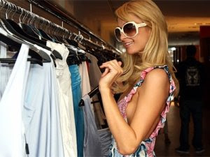 Paris Hilton's Melbourne Shopping