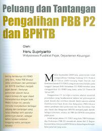 """Peluang dan Tantangan Pengalihan PBB P2 dan BPHTB"""""""