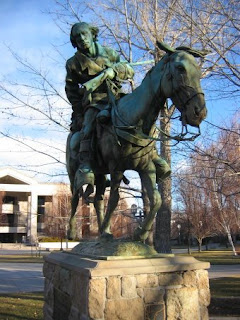 Backyard Statues backyard travelerrich moreno: carson city's statues help tell