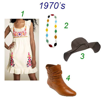 first up is the 1970s hippie