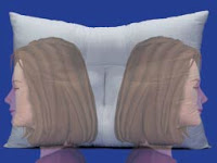 sleeping on your side with the cervical traction neck pillow