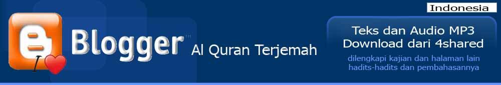 Al Quran Terjemah Indonesia Audio mp3 & Download
