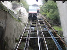 An ascensor in Valparaiso.