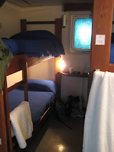 Our room onboard Navimag
