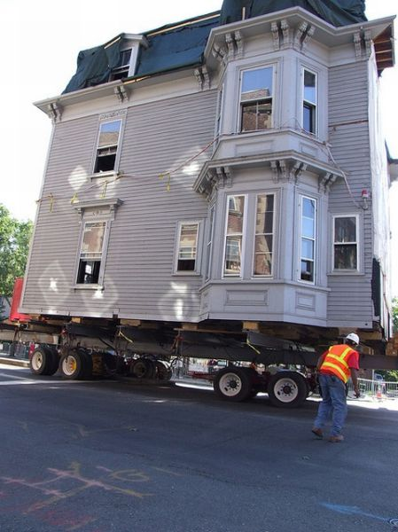 Moving Big Houses