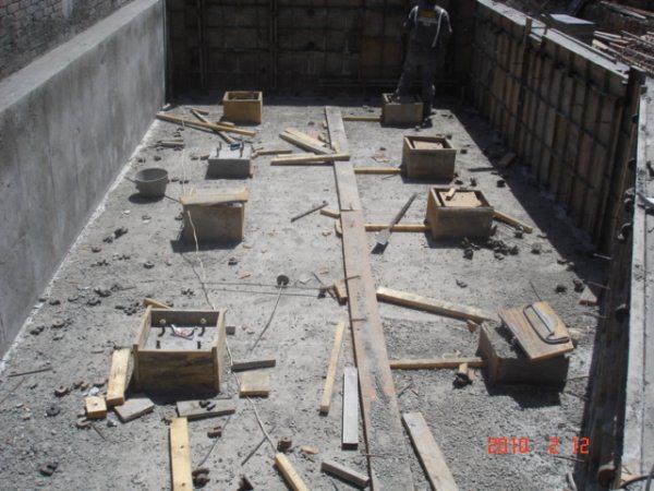 Arq giovanny burgos obra civil diques para tanques for Precio metro cubico hormigon