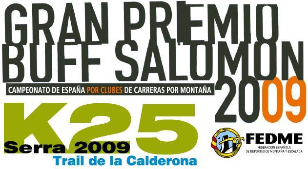 K25, Trail de la Calderona