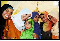 sisters in hug..