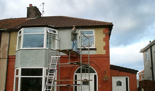 Pintar la fachada de casa hogar y bricolaje for Ideas para pintar fachadas de casas