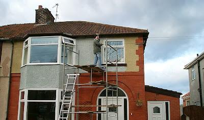 Reparar la fachada
