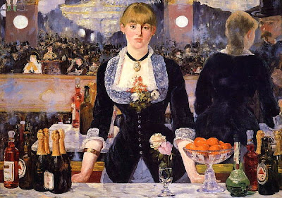 Sommelier, cuadro de Manet