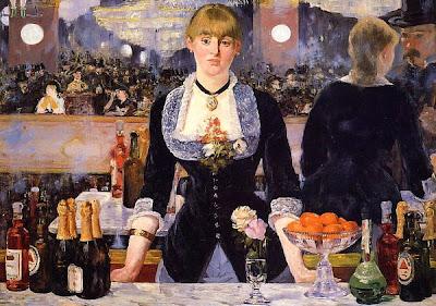 Sommelier, cuadro de Manet