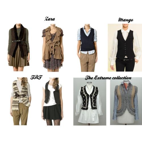 Chalecos femeninos de moda - Imagui