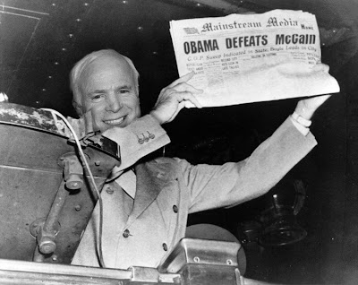 Obama defeats McCain