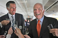 Mitt Romney and John McCain