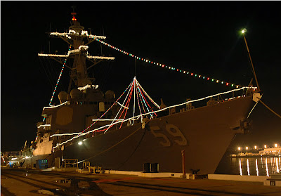 USS Russell, Holiday Destroyer