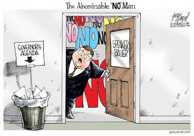 The Abominable 'NO' Man