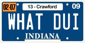 Dennie Ray Oxley II's License Plate