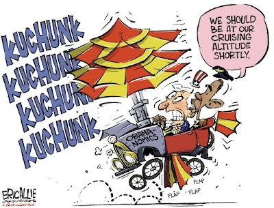 The Magnificent Obama & His Flying Machine