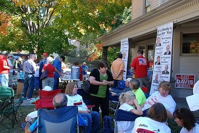2010 Tailgate with the Candidates, Teresa Sutton for Treasurer