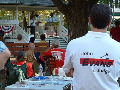 2010 Corydon Tea Party, John Evans for Circuit Court Judge