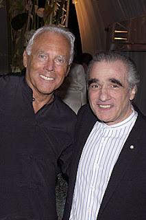 GIORGIO ARMANI & MARTIN SCORCESE foto