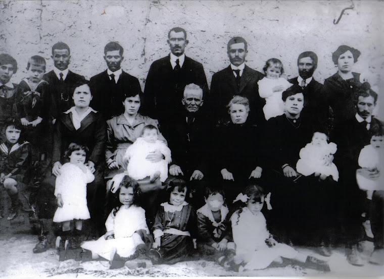 Nos arrières grands parents Diego et Françoise Assencio